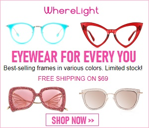 Sorot gaya pribadi Anda dengan WhereLight Glasses