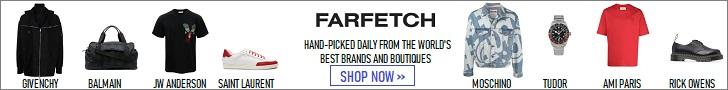 Temukan dunia Fashion Designer Brands dengan Farfetch.com